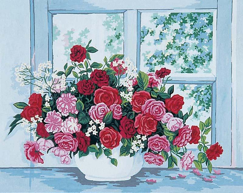 Окно розы в картинках