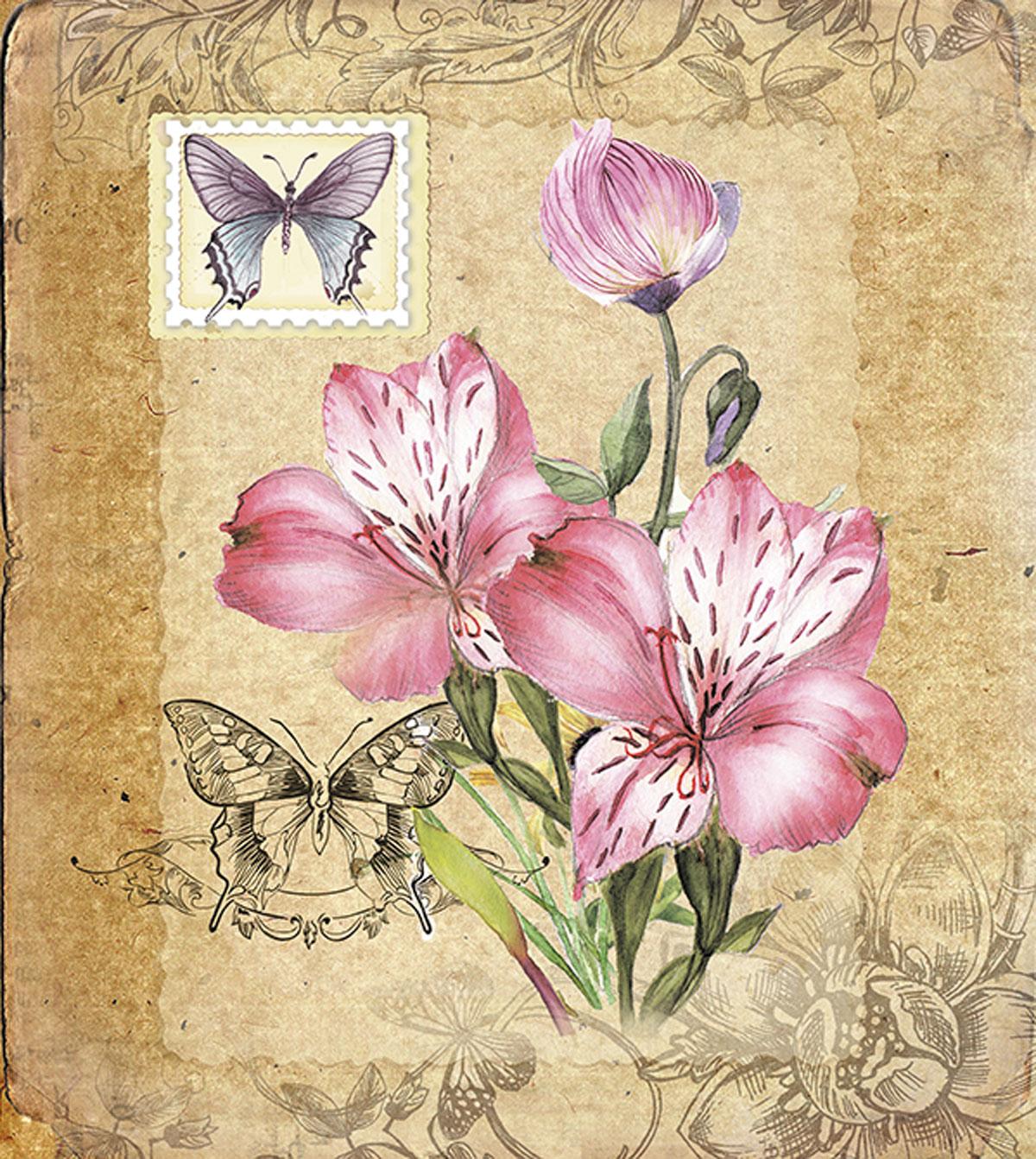 Картинка для декупажа винтаж орхидея