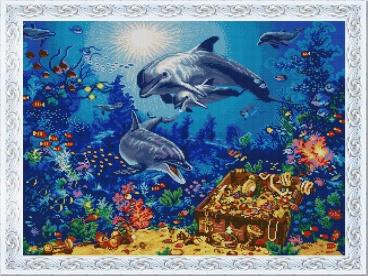 """Купить вышивку """"Морские сокровища"""" (арт. 1330) от """"Конёк"""""""